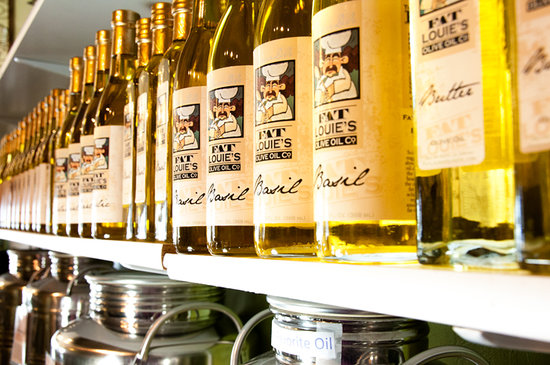 Fat Louie's Olive Oil Co.: Free Oil & Vinegar tastings