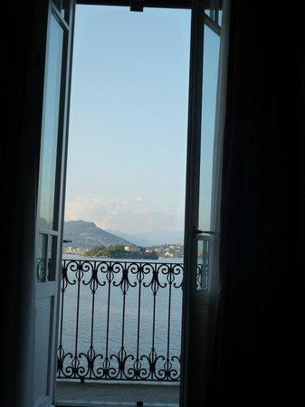 Albergo Ristorante Verbano: vue de la chambre