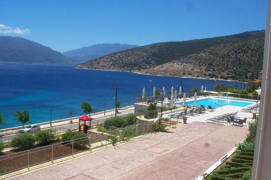 Odyssey Hotel Kefalonia: This is what we woke up to every morning,just wonderful