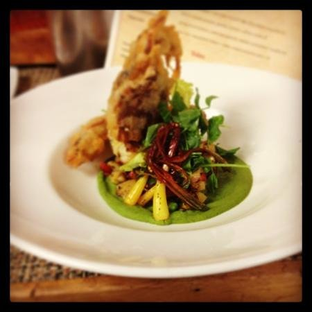 Softshell Crab at Flannel