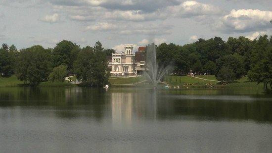 Druskininkai Hotel: Lake near hotel