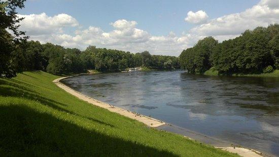 Druskininkai Hotel: Neman river