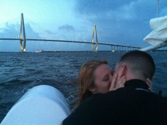 Charleston Sailing Adventures Prevailing Winds: What a beautiful view