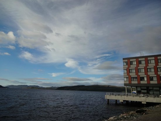 Thon Hotel Kirkenes: The Thon Hotel location