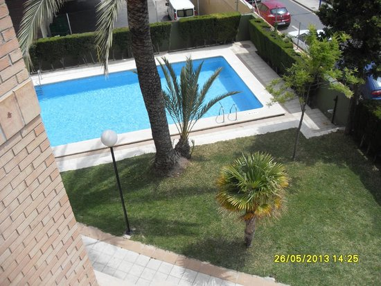 view of pool from 2A.