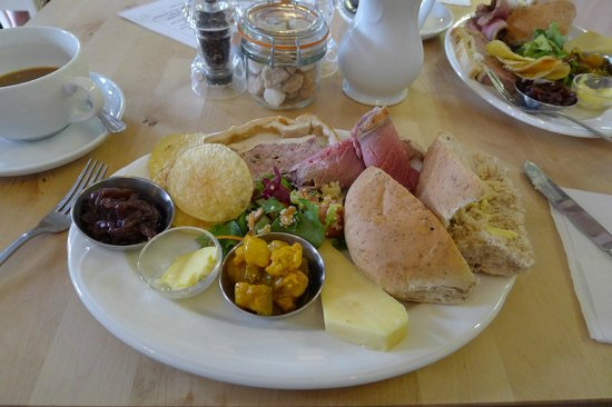 Cafe Latte: The ploughman's lunch.