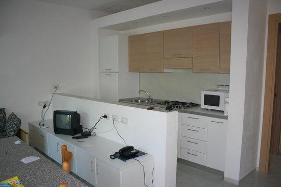 Aviotel Residence Hotel : soggiorno/cucina