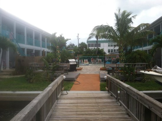 Five Palms Condominium Resort: view from dock
