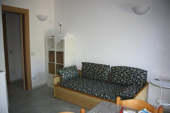 Aviotel Residence Hotel: divano-letto