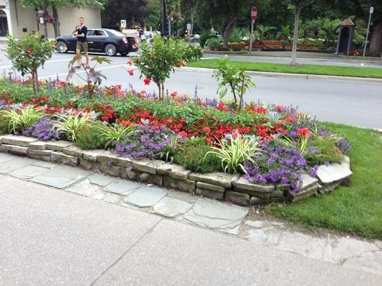 Pretty Flower Beds Out Front On Queen Street Picture Of Churchill