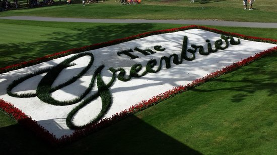 Courtyard Beckley: 18th tee at the Greenbrier Classic
