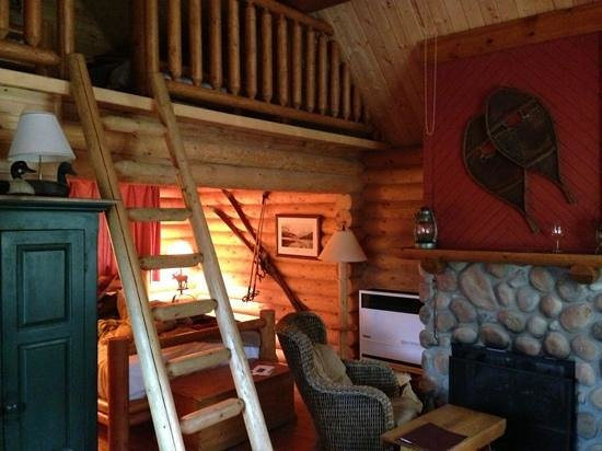 Cathedral Mountain Lodge: Cabin