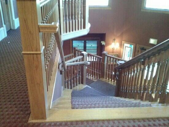 The Bradley Boulder Inn: stairs