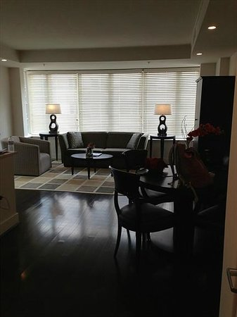 AKA White House: Living room