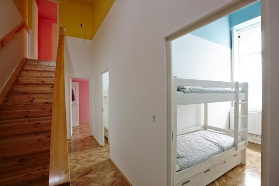 HoBar - the hostel bar : Hallway to 4 bed Dorms and Private Rooms