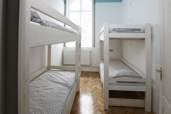HoBar - the hostel bar : 4 bed Dorm interior