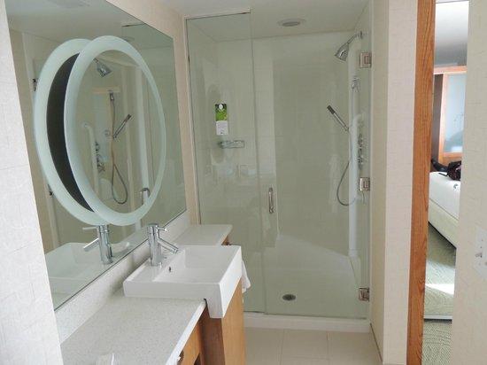 SpringHill Suites Scranton Wilkes-Barre: Big Shower