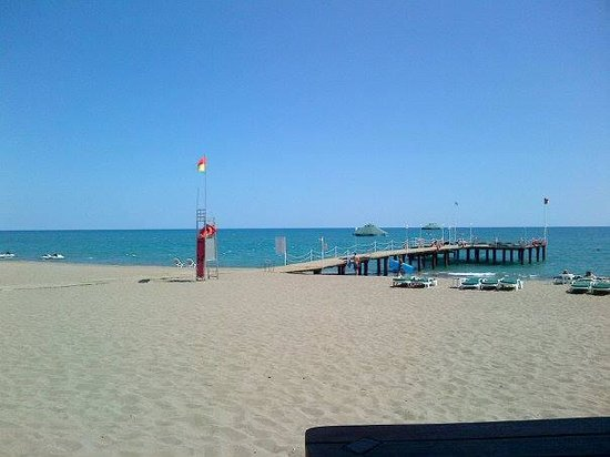 IC Hotels Green Palace: the view from the beach bar