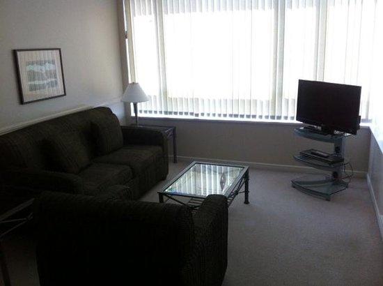 Carmana Plaza: Lounge area