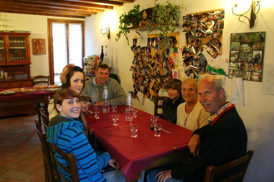 Podere Casanova : Welcome dinner at check-in