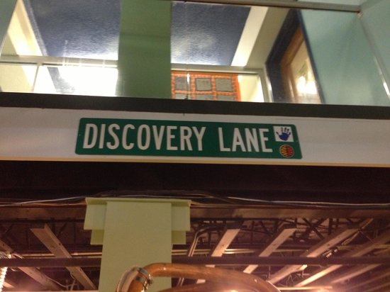 Explorations V Children's Museum: Discovery lane