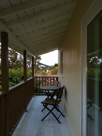 Vendange Carmel Inn & Suites: Balcony