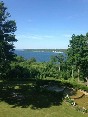 Country House Resort : The view from the penthouse