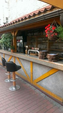 Konventa Terrace: front of bar