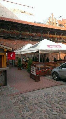 Konventa Terrace: entrance