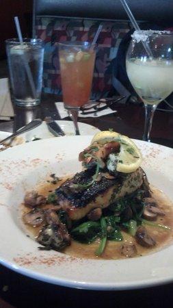 Irma's Southwest Grill : Sea Bass