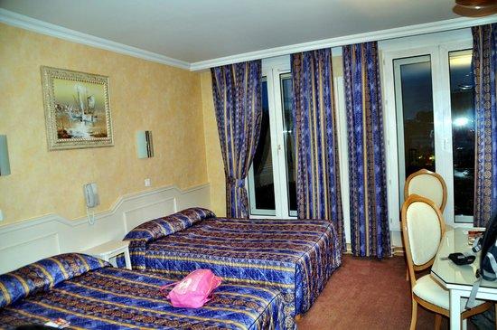 Hotel Du Midi Paris Montparnasse: unser Zimmer