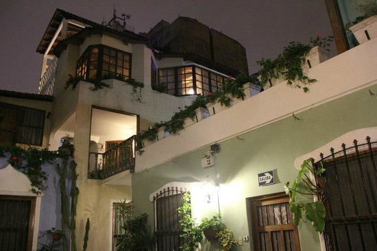 Hostal El Patio: Vue nocturne