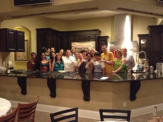 Kitchenique: Physicians Pediatric Symposium private class had a great time.