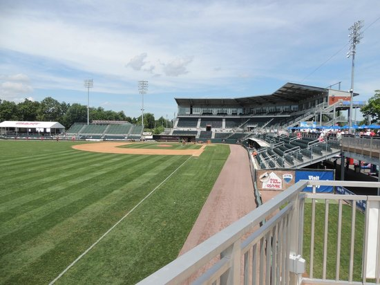 Metro Bank Park: Looking in from left field