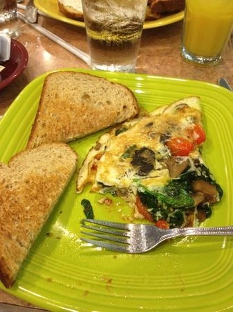 Momma Spriggs Restaurant: healthy choice