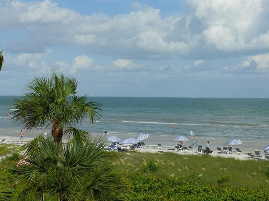 Sanibel Siesta on the Beach: View from front door