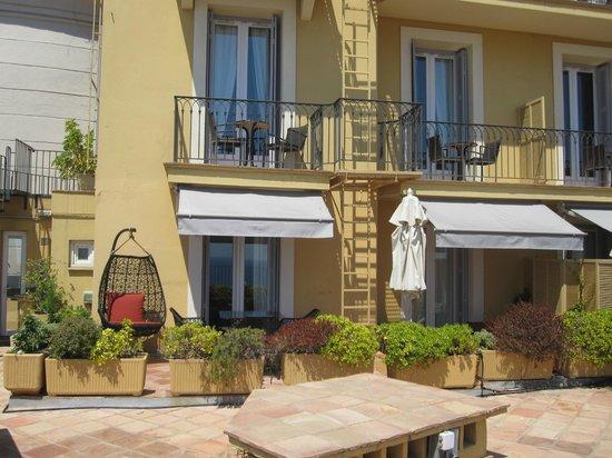 Hotel La Perouse: Suíte (vista da varanda)