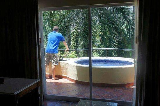 Casa Velas: plunge pool