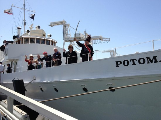 USS Potomac: Another of the Potomac's Cruises...Characters of the Bay