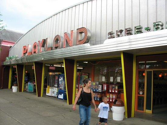 sylvan beach amusement park playland arcade