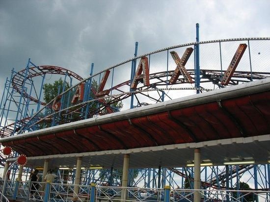 sylvan beach amusement park galaxy coaster