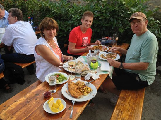 Frankfurter Haus: Our meals
