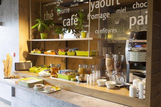 Ibis budget Cherbourg - La Glacerie : Buffet Petit Déjeuner