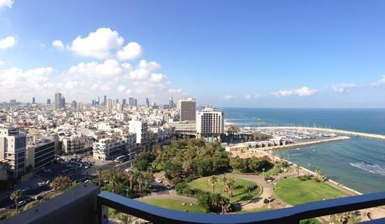 Hilton Tel Aviv: view from 12th floor