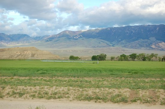 Belfry, MT: View from bedroom - looking West