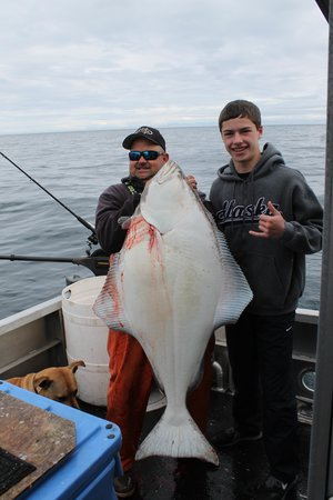 Alaska's Kodiak Island Resort: Big Halibut