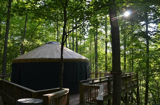 Campfire Lodgings: Yurt #2