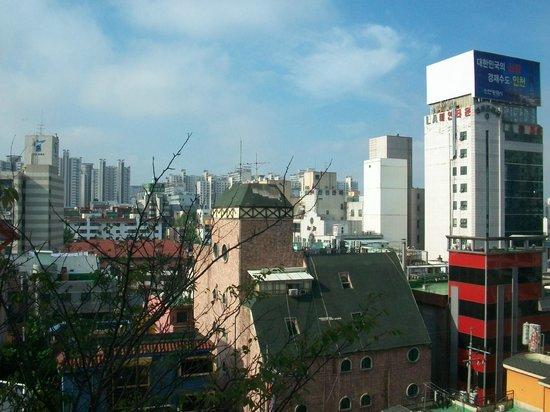 Best Western Incheon Royal Hotel: Vista desde la habitación 509