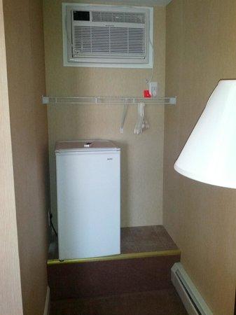 The Belvedere Motel: Refrigerator