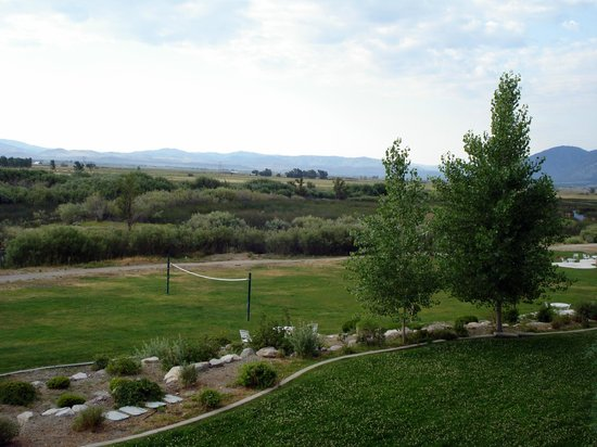 1862 David Walley's Hot Springs Resort and Spa: Wetlands view from room balcony